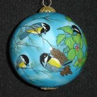 Buy cheap Glass ornament balls, Hanging christmas Ball Ornament from wholesalers