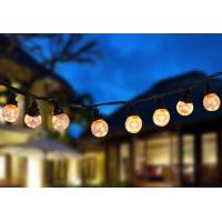 Buy cheap PVC PS LED String Lights USB 30FT Decorative 25ct G45 Bulbs Energy Saving from wholesalers