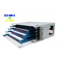 Buy cheap Outdoor Rack Fiber Patch Panel  , Rj45 Cat6 12 Port SC Fiber Patch Panel from wholesalers