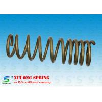 Buy cheap 14mm Wire Off Road Automotive Coil Springs , Vehicle Coil Springs Gold Powder Coated XL-1118 product