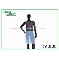 Buy cheap Dustproof PP Hospital Disposable Pants Short Sauna Pants Blue from wholesalers