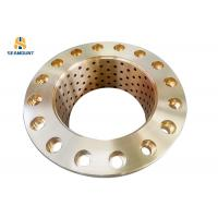 Buy cheap Self Lubricating Copper Bushing Anti Erosion For Construction Machinery from wholesalers