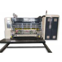 Buy cheap Automatic Lead Edge Feeding Flexo Corrugated Machine , Flexo Printer Slotter Die Cutter from wholesalers