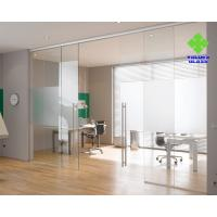 Buy cheap Anti Hitting Tempered Glass Panels , High Stability Toughened Glass For Doors from wholesalers