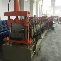 Buy cheap 1.5mm Galvanized Ceiling Rail Shutter Door Roll Forming Machine With 11KW from wholesalers
