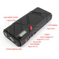 Buy cheap Smart Car Jump Starter 1200a Peak Battery / Jump Start Power Bank 5.0l Diesel Version from wholesalers