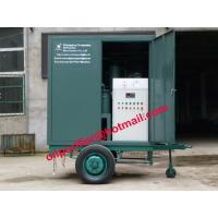 Buy cheap Mobile Transformer Oil Treatment Plant, improves the insulating oil flash point and breakdown voltage,high cleanness from wholesalers