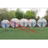 Buy cheap inflatable bubble football inflatable bubble soccer ball human Hamster ball zorb ball from wholesalers
