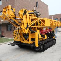 Buy cheap Air Cooled Hydraulic Exploration Drilling Rig , Depth 2000m 179KW CSD1800AX from wholesalers