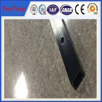 Buy cheap 6061 t6 aluminum quality factory square tube extrusion profile / cnc drilling square tube from wholesalers