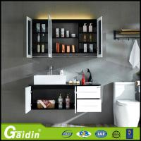 Buy cheap Bath Mirror Type and Solid Wood Door panel bathroom cabinet from wholesalers