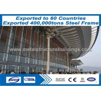 Buy cheap High Strength Steel Frame Structure Steel Building Solutions Rust Proof from wholesalers