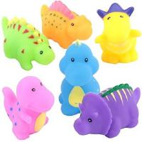 Buy cheap Soft Floating Dinosaur Rubber Bath Toys Phthalate Free For Tub / Pool / Beach from wholesalers
