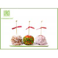 Buy cheap Healthy Cake Ball Sticks 150 X 3.0mm , Logo Printed Personalized Wooden Candy Sticks from wholesalers