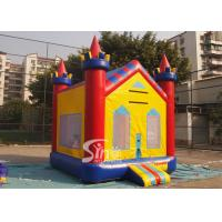 Buy cheap 13x13 kids dream water proof inflatable bounce house with obstacle N basketball hoop inside from wholesalers