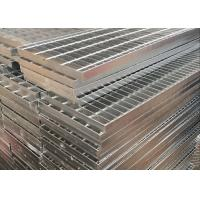 Buy cheap Galvanized Bar Grating / Steel Driveway Grates Grating Excellent Bearing Capacity product