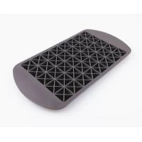 Buy cheap 160 Silicone Mini Ice Cube Tray , Flexible Triangle Silicone Ice Cube Molds from wholesalers
