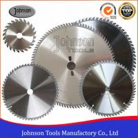 Buy cheap High Precision TCT Circular Saw Blades For Plastic / Plywood / Aluminum from wholesalers