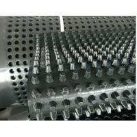 Buy cheap Transparent Color HDPE Dimpled Drainage Board , High Strength Foundation Drainage Panels from wholesalers