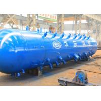 Buy cheap High Pressure Water Tube Boiler Steam Drum For 75 T / H Indonesia EPC Project from wholesalers