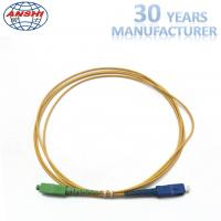 Buy cheap 2.00m 1 Meter Simplex Single Mode Fiber Patch Cables SC / UPC - SC / APC from wholesalers