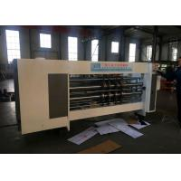 Buy cheap Electric Adjust Phase Automatic Flexo Printer Slotter Machine  / Carton Packing Machine from wholesalers