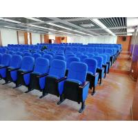 Buy cheap 580*750*1000MM Auditorium Church Folding Theater Seats Rubber Wood Armrest from wholesalers