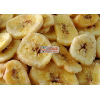 Buy cheap Natural Sweet Freeze Dried Banana Chips No Added Sugar Longer Shelf Life from wholesalers