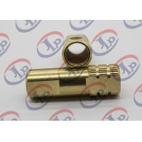 Buy cheap Both End Milling Knurling Copper Bush Cnc Machined Components + - 0.1 Mm Tolerance from wholesalers