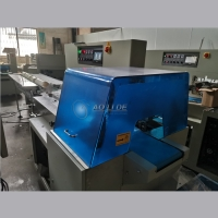 Buy cheap 80 bags/Min Horizontal Flow Pack Machine For T Shirt Rubbish Bag from wholesalers