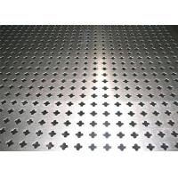 Buy cheap Decorative Perforated Metal Sheet with Four Star Hole Shaped Rust Resistant from wholesalers