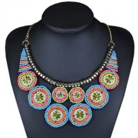 Buy cheap 2015 Autumn New choker vintage jewerly bead Necklaces & Pendants fashion collar necklace from wholesalers