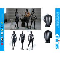 Buy cheap Glossy Black Full Standing Female Body Mannequin / Fiberglass Female Body Display from wholesalers