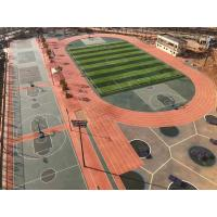 Buy cheap High Elasticity Rubber Exercise Flooring , All Weather Synthetic Track Surface from wholesalers