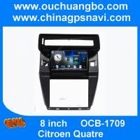 Buy cheap Ouchuangbo Citroen Quatre audio DVD GPS radio with AUX SD MP3 swc free Russia map from wholesalers