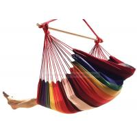 Buy cheap Large Single Person Garden Swing Brazilian Style Hammock Chair With Stand Poly Cotton Weave from wholesalers
