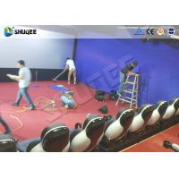 Buy cheap Shopping Mall 7D Cinema 7D Movie Theater 110V / 220V / 380V For Commercial from wholesalers