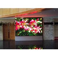 Buy cheap Full Color HD Indoor P4 LED Board Display Module 256mmx128mm Advertising LED Video Wall Indoor Front / Back Service from wholesalers