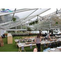 Buy cheap Aluminum Frame Garden Party Marquee With Transparent Canopy Fireproof from wholesalers