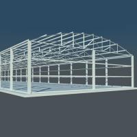 Buy cheap Customized Light Heavy Steel Structure Design For Structural Steel Fabricators from wholesalers