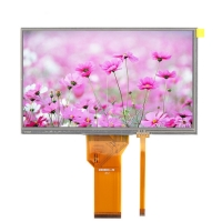 Buy cheap 6 O'Clock 800X480 RGB 7 Inch Tft Lcd Module from wholesalers