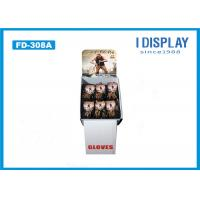 Buy cheap Gloves Cardboard POP Displays , Free Standing Cardboard Displays  Special Shape from wholesalers