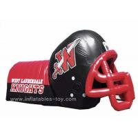 Buy cheap Adults Inflatable Sports Games Football Team Inflatable Football Helmet Tunnel from wholesalers