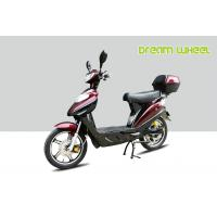 Buy cheap CE Power Assisted Electric Scooter / bike 500W 72V battery Red Hydraulic Disc Brakes from wholesalers