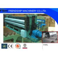 Buy cheap 5m/min Metal Steel Culvert Pipe Making Machine Water Conservancy Project 1250mm Width from wholesalers