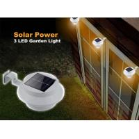 Buy cheap Solar Gutter Lights / Solar Powered Outdoor Lights Sealed Without Electrolyte Leakage from wholesalers