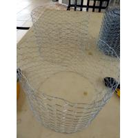 Buy cheap Garden Chicken wire fence rust prevention Galvanized before weaving from wholesalers