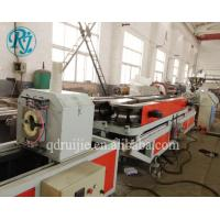 Buy cheap PVC Single Wall 380V 50HZ Corrugated Pipe Production Line product
