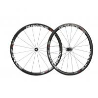 Buy cheap Toray T800 carbon wheel 38mm tubular wheels UD-matt 700c carbon road wheels basalt surface 1392g road bike wheels 38T from wholesalers