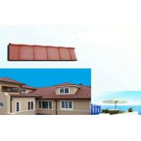 Buy cheap Polished eco Corrugated Double Roman Roof Tiles For house Slop Roofing from wholesalers